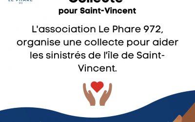 Collecte pour les sinistrés de Saint-Vincent